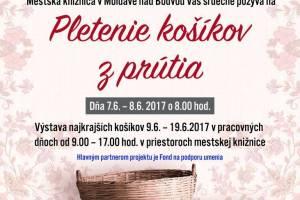 Fond na podporu umenia 2017- Tvorivé dielne s tradičnými moldavskými remeslami
