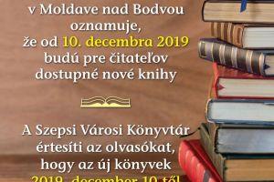Fond na podporu umenia 2019- Akvizícia knižníc