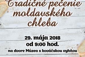 Fond na podporu umenia 2018- Tradičné pečenie moldavského chleba