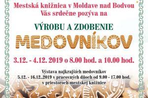 Fond na podporu umenia 2019- Tvorivé dielne s tradičnými moldavskými remeslami - Výroba a zdobenie medovníkov