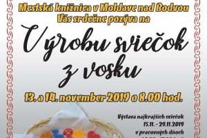 Fond na podporu umenia 2019- Tvorivé dielne s tradičnými moldavskými remeslami - Výroba sviečok