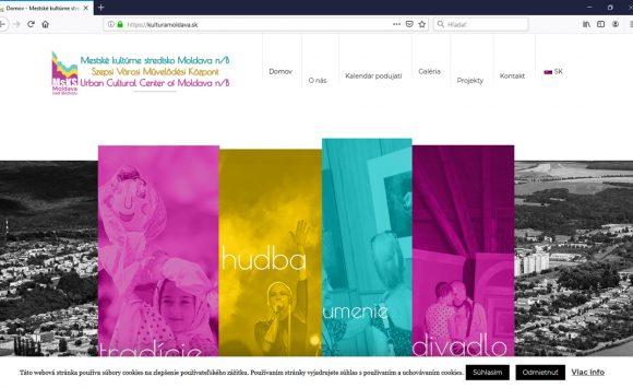 Mestské kultúrne stredisko má novú webstránku!